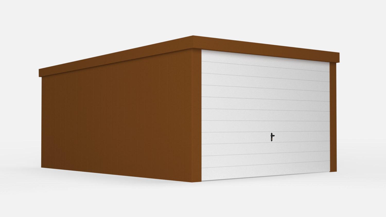 Garaż standard kolor